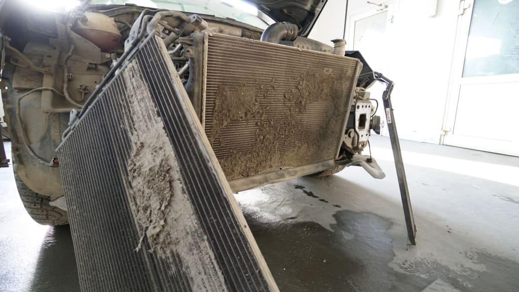 Чистка радиатора Хендай в Тюмени