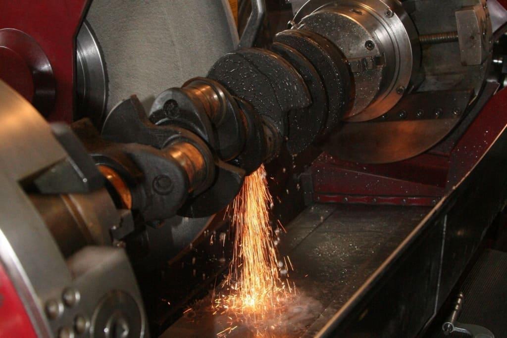 Ремонт коленчатого вала (коленвала) двигателя Хендай в Тюмени
