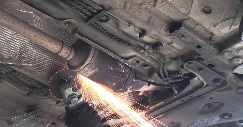 Удаление сажевого фильтра Киа в Тюмени