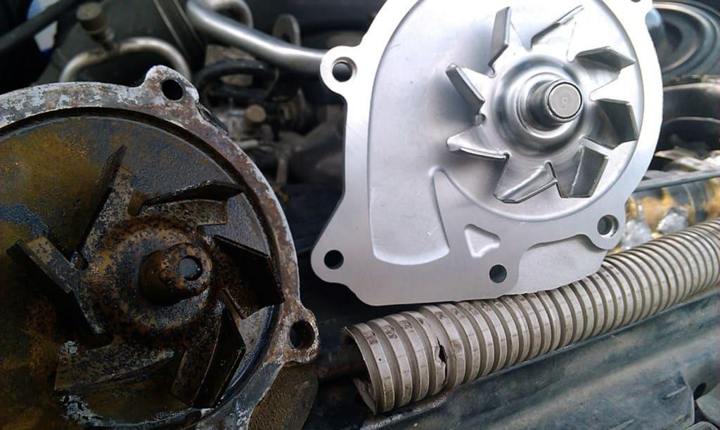 Замена помпы двигателя Хендай в Тюмени