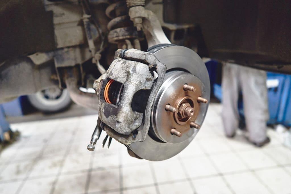 Замена тормозных дисков Ссанг Йонг в Тюмени